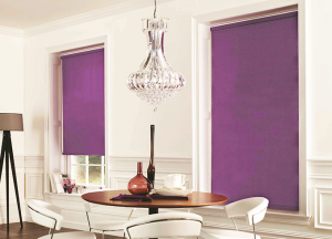 finesse blinds purple blackout blinds