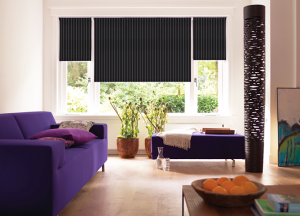 finesse blinds black strip black out blinds