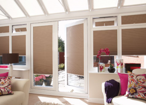 finesse blinds brown conservatory blinds