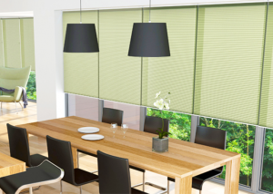 finesse blinds green dining room blinds