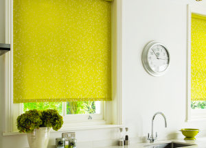finesse blinds yellow kitchen roller blinds