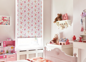 finesse blinds pink child roller blinds