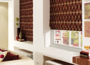 finesse blinds brown roman blinds