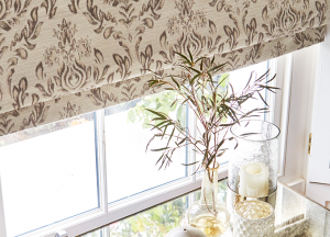 finesse blinds floral roman blinds