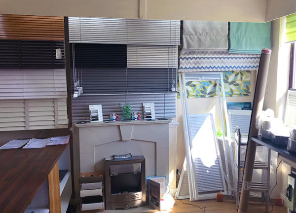 finesse blinds showroom selection