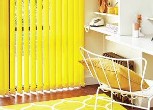 finesse blinds yellow vertical blinds