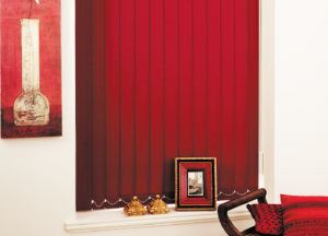 finesse blinds red vertical blinds
